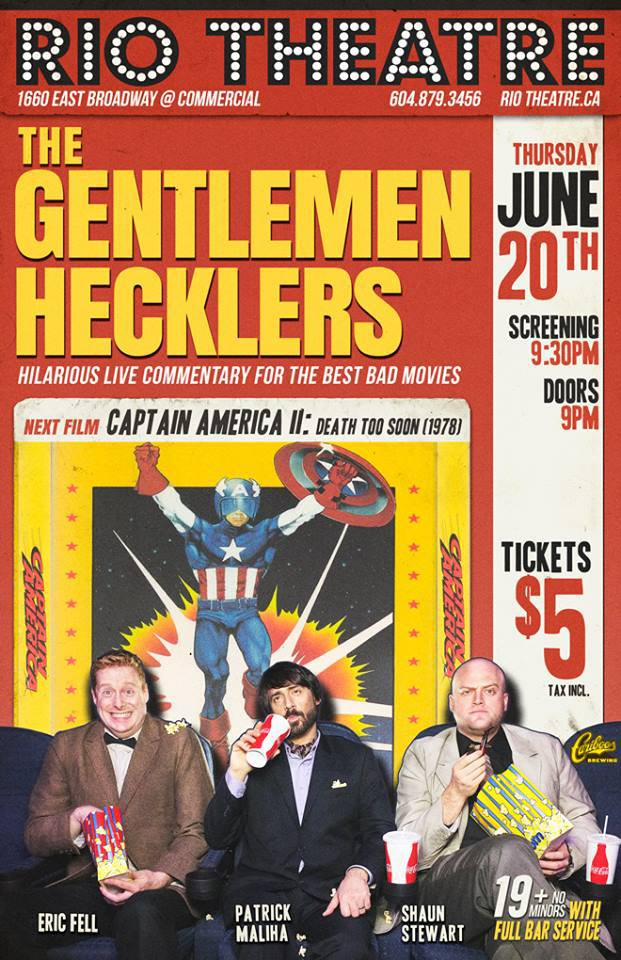 Gentlemen Hecklers meet Captain America!